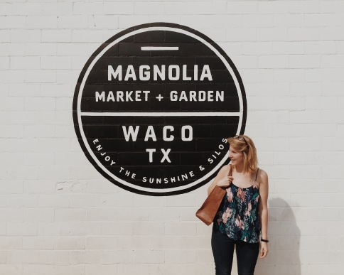 First time visiting Magnolia Market!