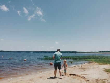 Jim & Liam gone fishing.