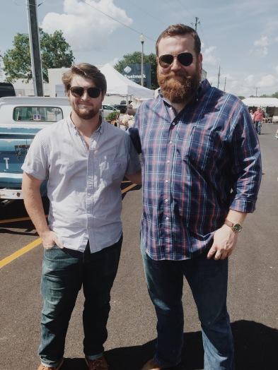 Jim & Ben at The Market Beautiful.