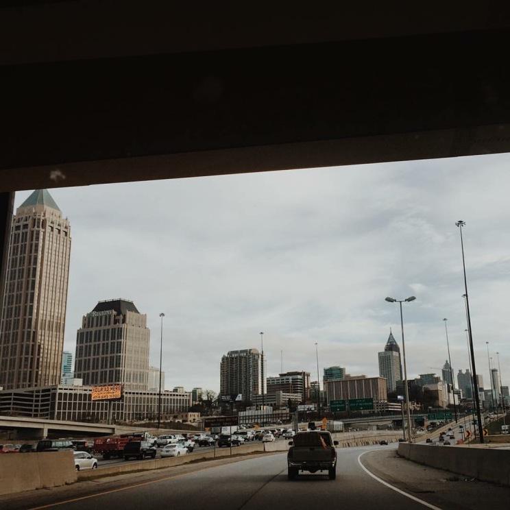My daily commute: Atlanta, GA